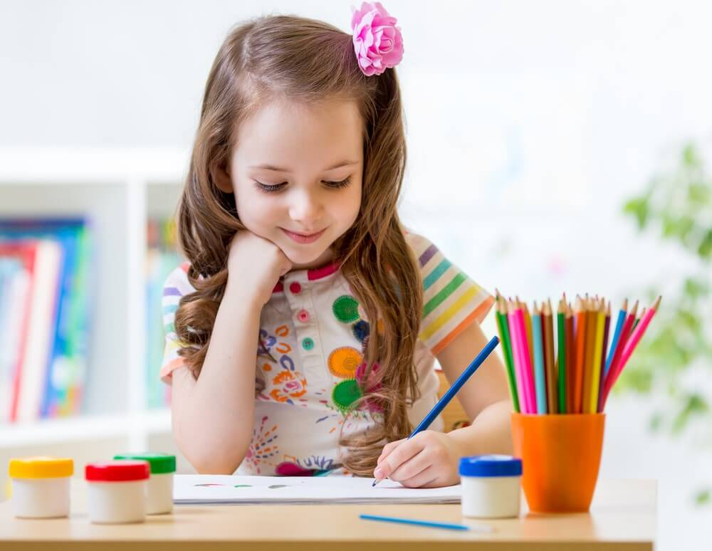 The benefits of colouring in for children - Little Learners