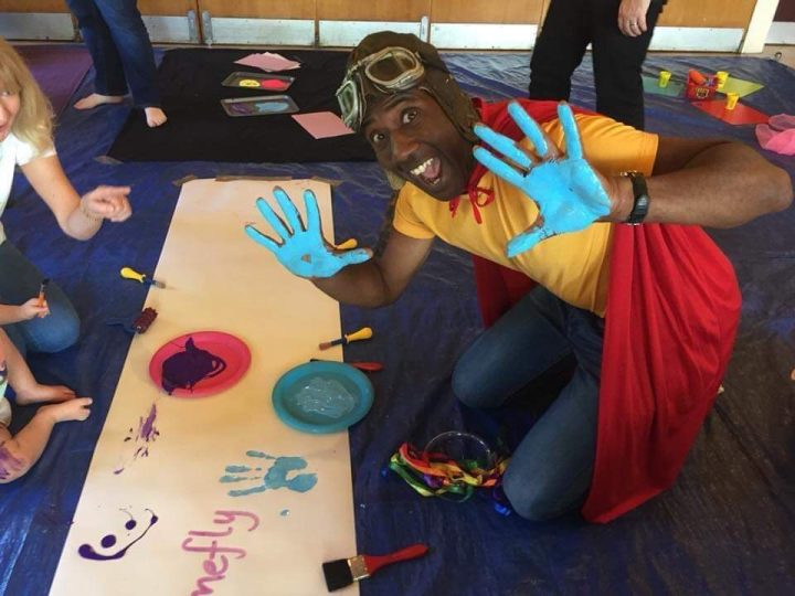 Sid Sloane at Little Learners for Children's Activities Week