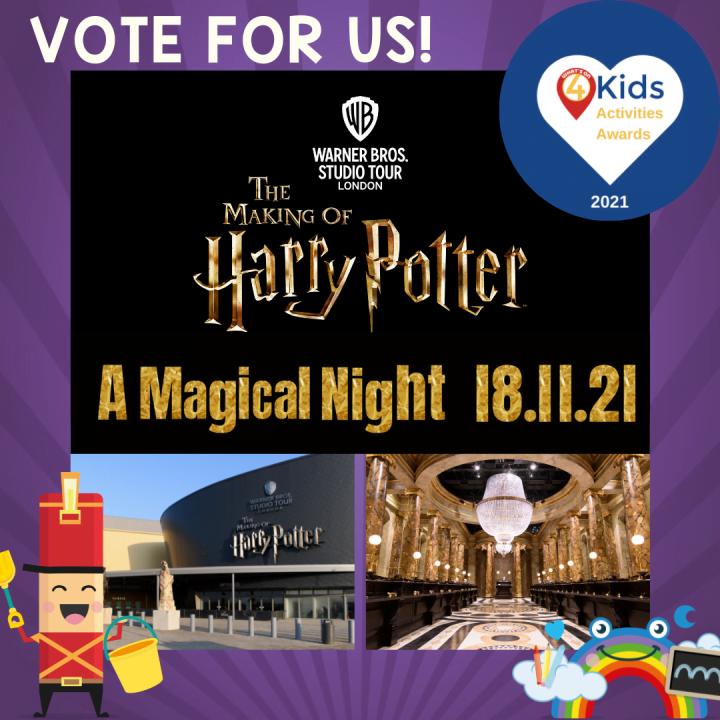 Kids Activity Awards at Harry Potter World