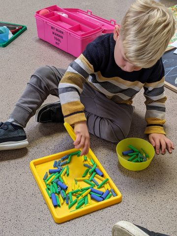 Children's Activity Pasta Play